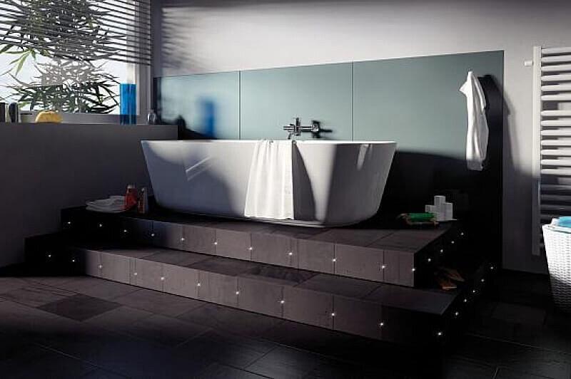 Ванна на подиуме: как правильно установить акриловую купель