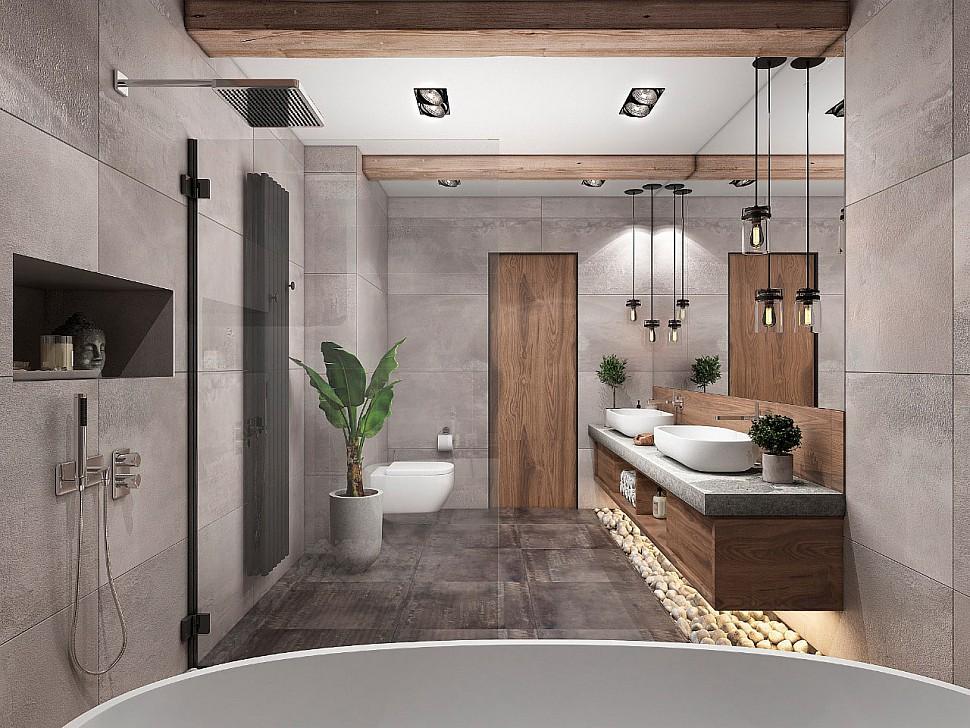 Ванная комната: как создать эффектный интерьер в помещении любого размера